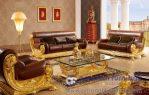 Kursi Tamu Mewah Mesir Warna Emas