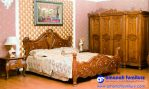 Furniture Kamar Tidur Jati Brawijaya Ukiran Jepara