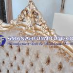 Detail Ukiran Kursi Tamu Mewah Brawijaya