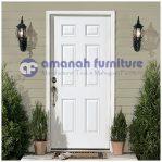 Jual Pintu Rumah Minimalis Cat Putih Duco