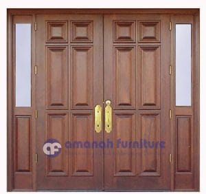 Pintu Jati dan Kusen Rumah Model Persegi