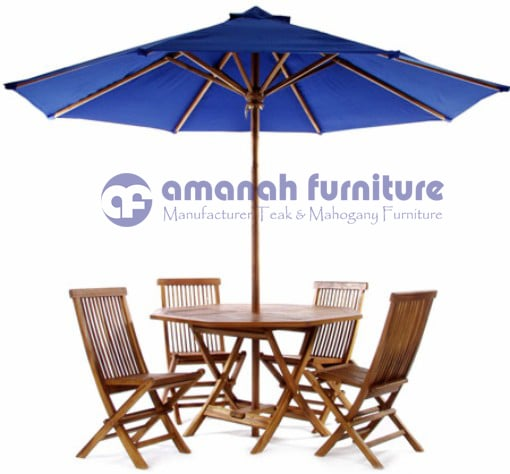 jual meja taman payung
