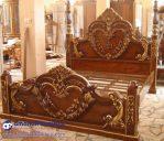 Tempat Tidur Mewah Jati Love Ukir Jepara