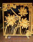 Sekat Pembatas Ruangan Unik Motif Bunga Ranting