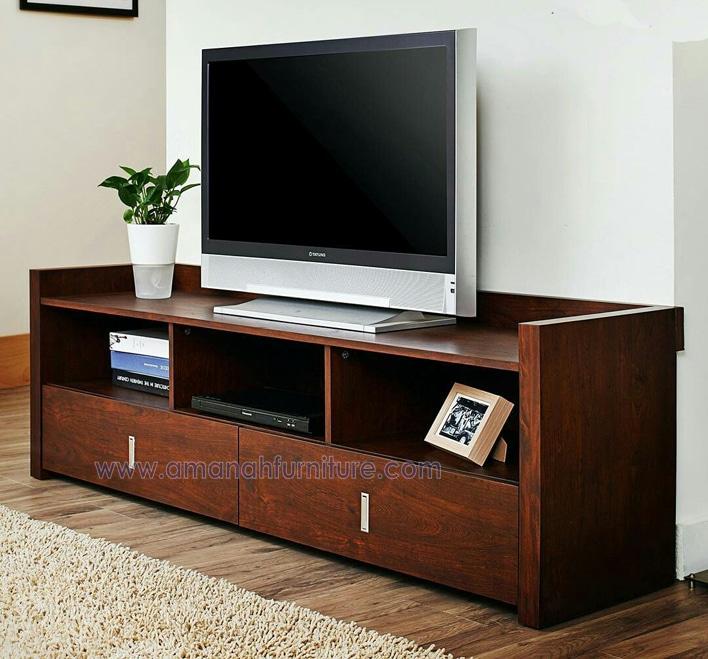 Meja Tv Minimalis Jati Untu Tv LED