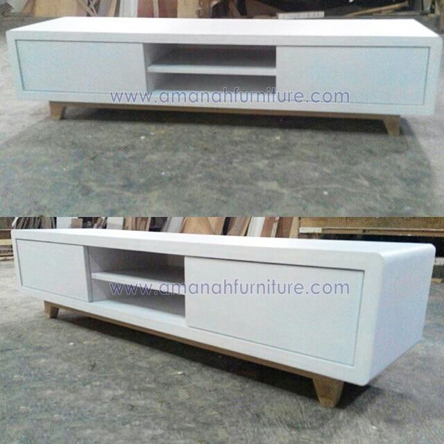 AF-118-meja-tv-minimalis-putih-retro