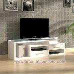 Meja TV LCD Minimalis Warna Putih