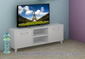 Meja TV Retro Paris Minimalis – Kabinet TV
