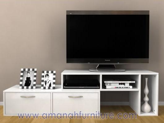 AF-126-meja-tv-minimalis-kabinet-putih