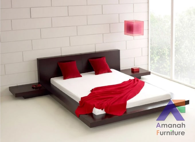 jual tempat tidur minimalis pendek
