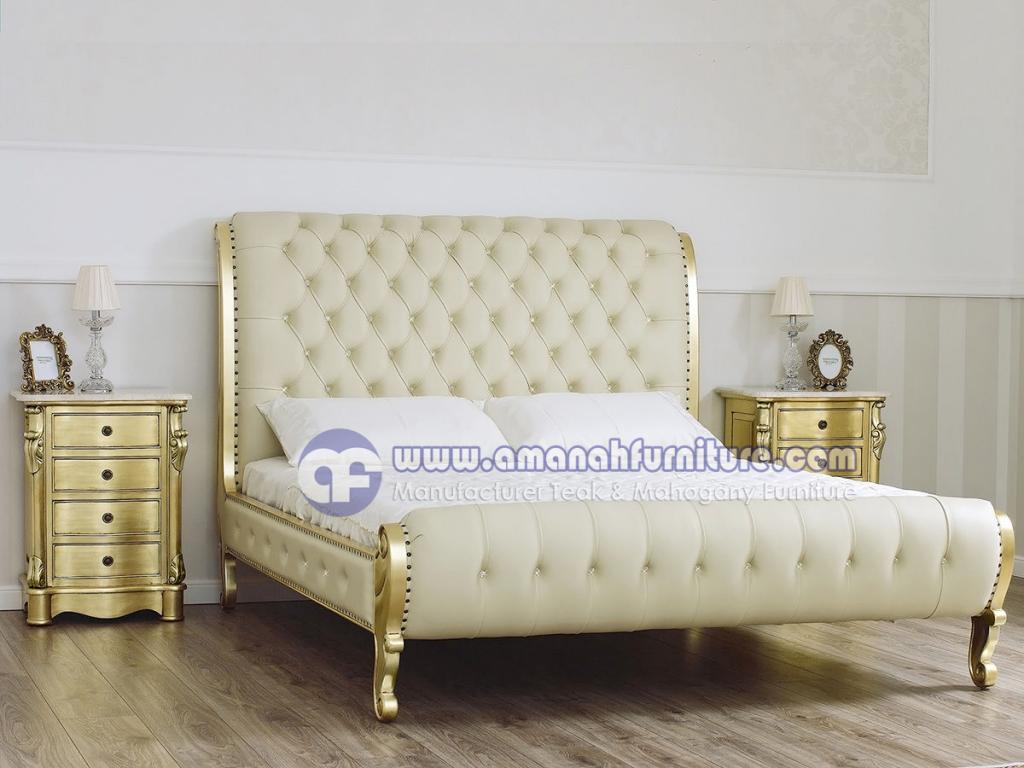 Tempat Tidur Cleopatra Mewah Klasik Moderen