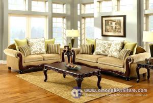Sofa Tamu Minimalis Klasik Mewah Jati