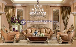 Kursi Tamu Mewah Waldorf Royal Jepara