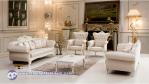 Kursi Tamu Mewah Klasik Duco Putih