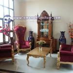 Sofa Tamu Mewah Syahrini Klasik Jepara