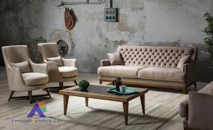 Kursi Sofa Ruang Tamu Minimalis Retro Djogja