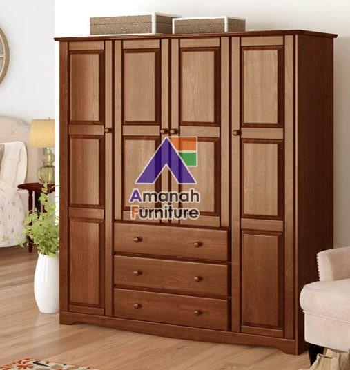 gambar lemari pakaian jati jepara